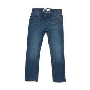 OLD NAVY Little Girl Small 6-7 Blue Skinny Jeans